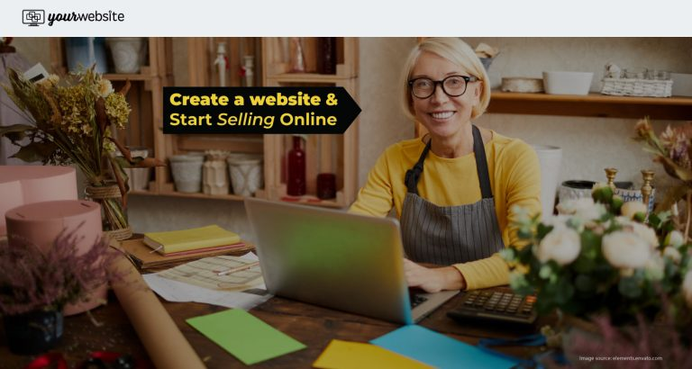 Create a Website and Sell online