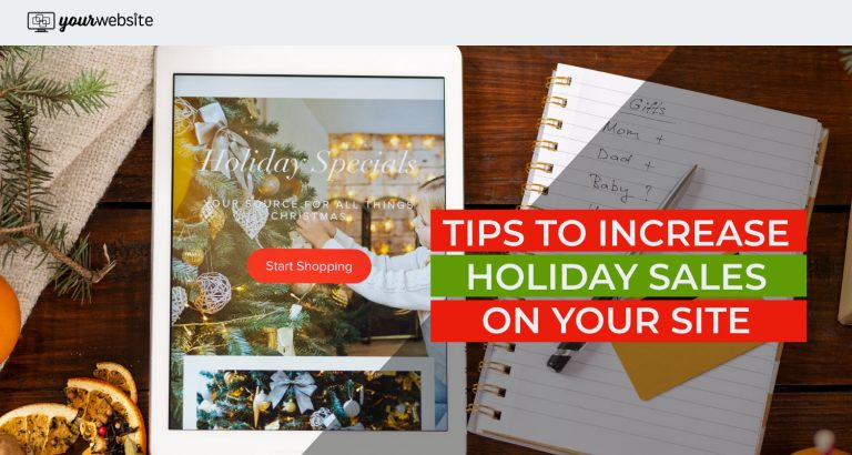 holiday shopping tips to increase your sales