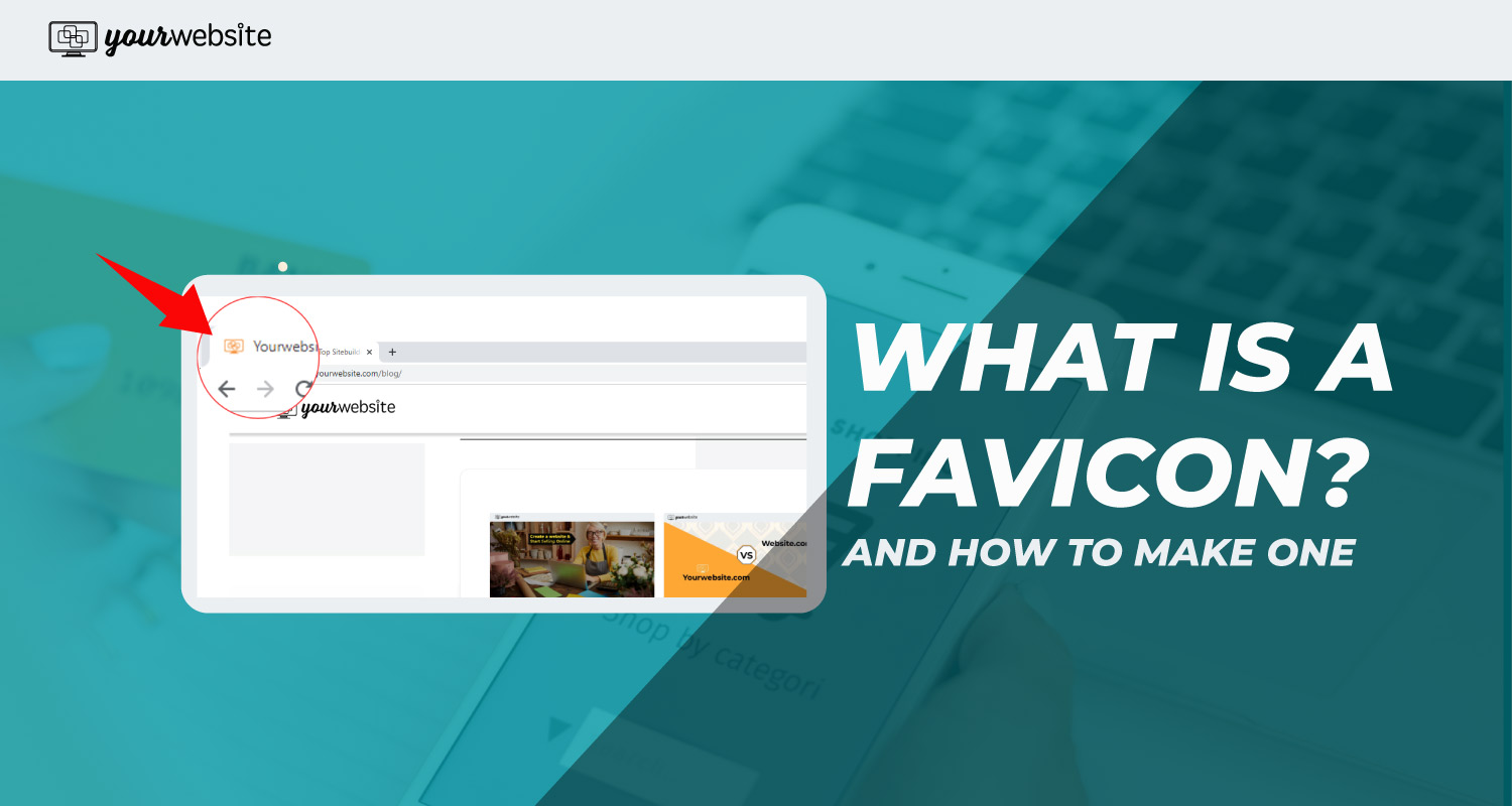 What is a favicon and how do you make one?
