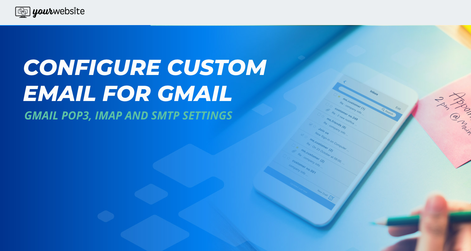 Configure My Email Server POP3, IMAP and SMTP Settings