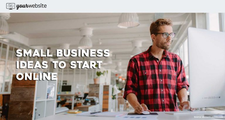 small business ideas to start online