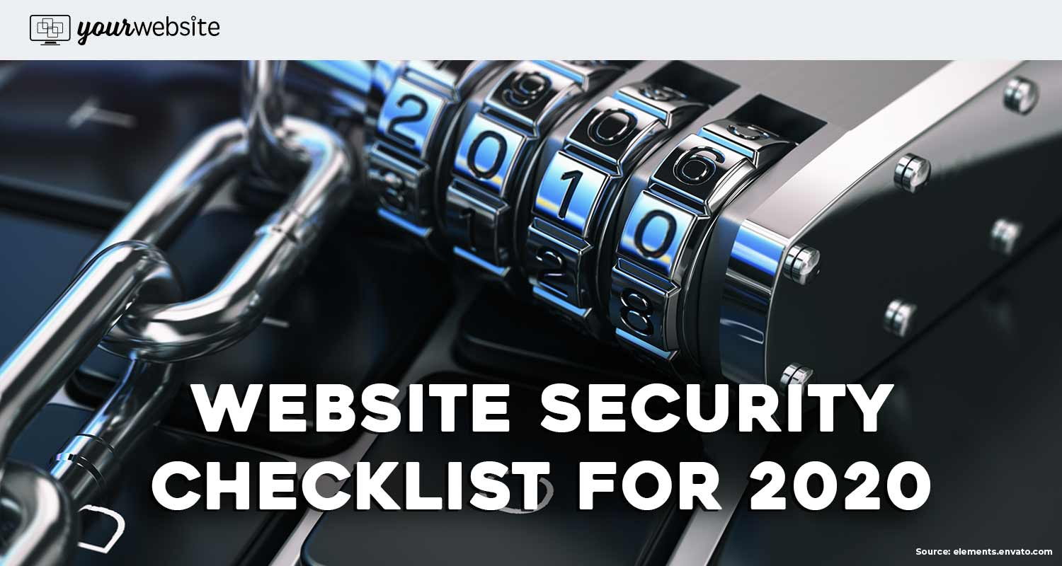 Best Website Security Checklist for 2020