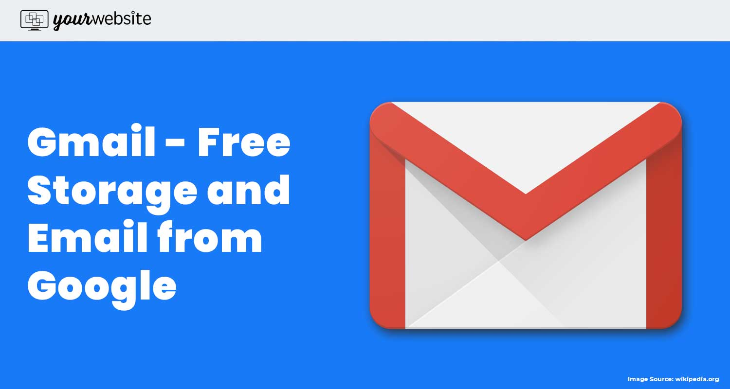 Free Email Storage from Google