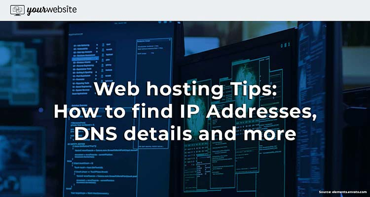Web hosting Terms: How to find IP address, DNS details and more