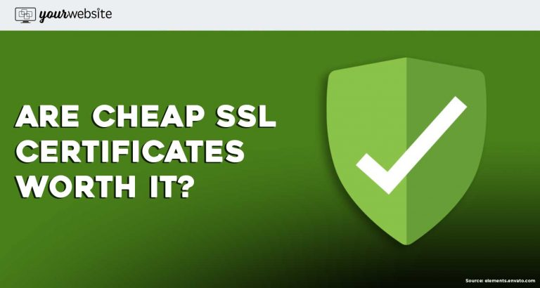 cheap ssl certificate