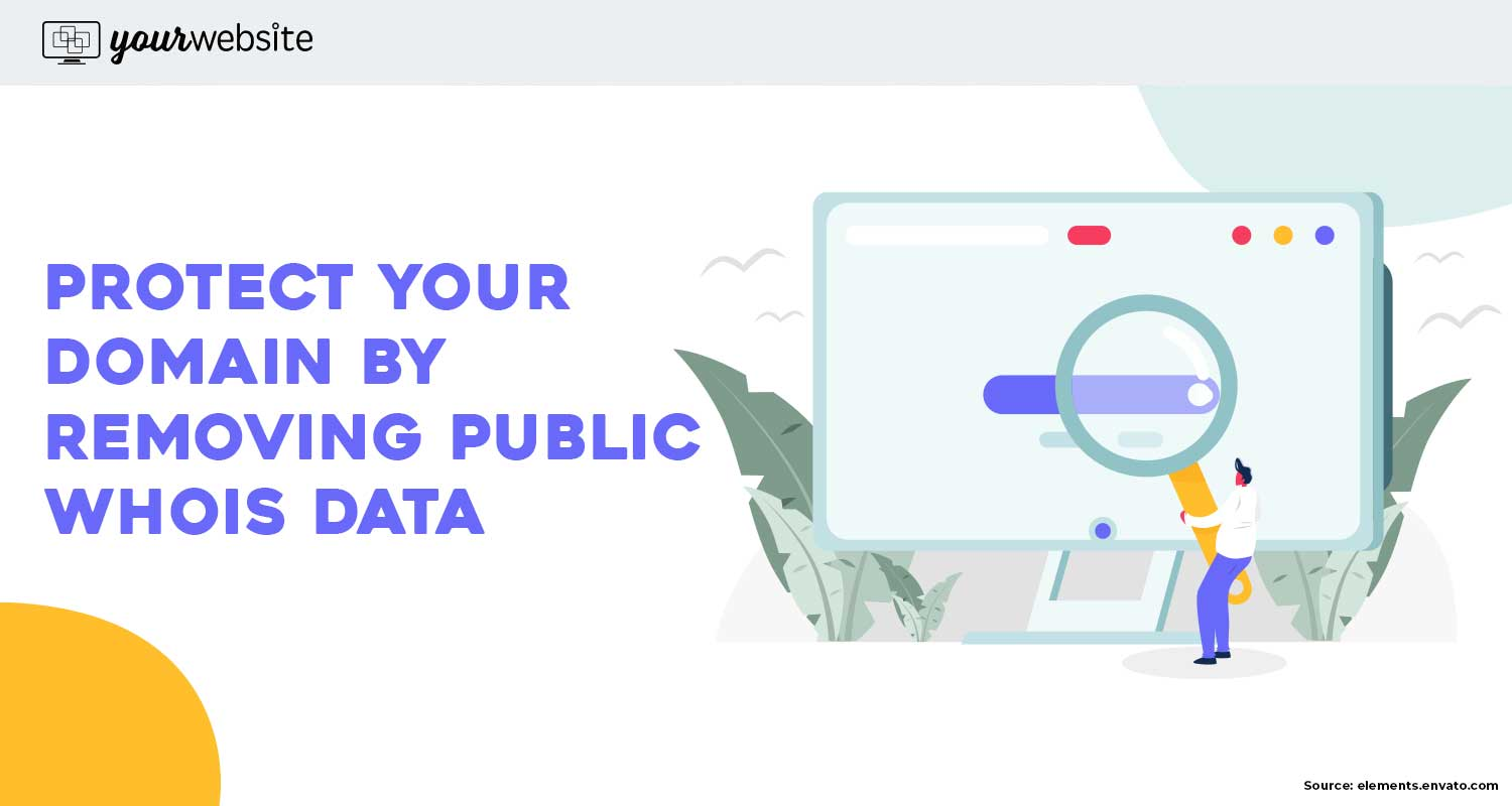 How to Remove Public WHOIS Data