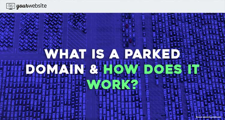 what is a parked domain